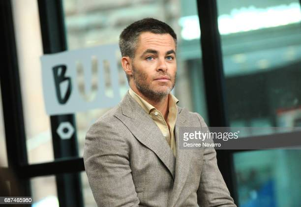 Actor Chris Pine attends Build The Cast of 'Wonder Woman' at Build Studio on May 23 2017 in New York City