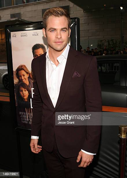 Actor Chris Pine attends the 2012 Los Angeles Film Festival Premiere of 'People Like Us' at Regal Cinemas L.A. LIVE Stadium 14 on June 15, 2012 in...