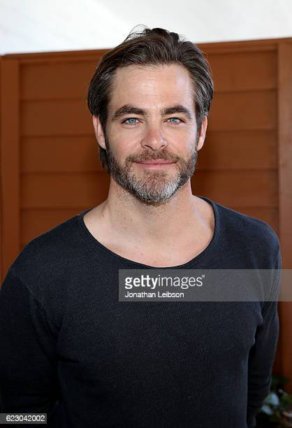 Actor Chris Pine attends the Indie Contenders Reception hosted in the Audi Sky Lounge at AFI Fest 2016 presented by Audi at Hollywood Roosevelt Hotel...