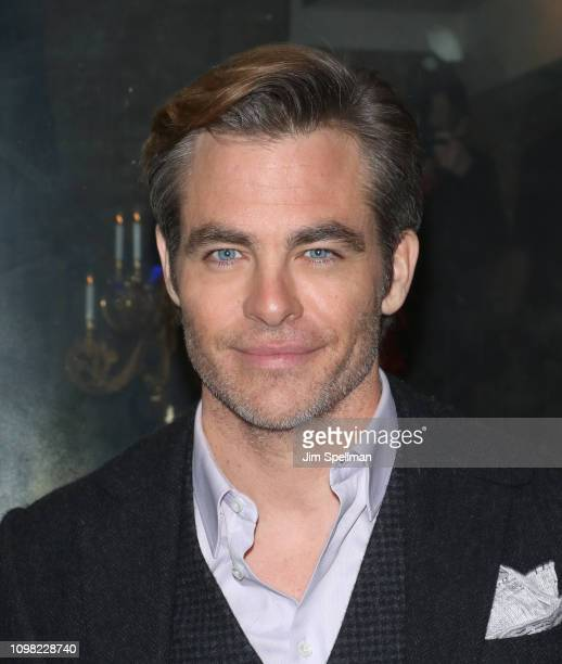 Actor Chris Pine attends the New York premiere after party for TNT's I Am The Night at 214 Lafayette Street on January 22 2019 in New York City