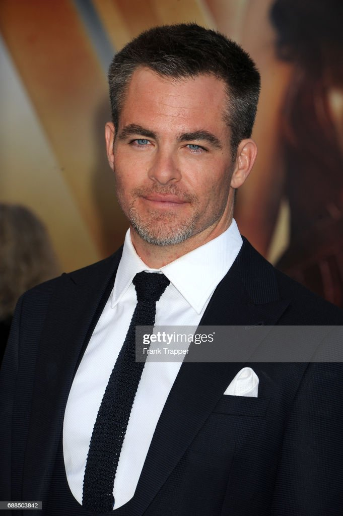 Actor Chris Pine attends the premiere of Warner Bros. Pictures ''Wonder Woman' at the Pantages Theatre on May 25, 2017 in Hollywood, California.