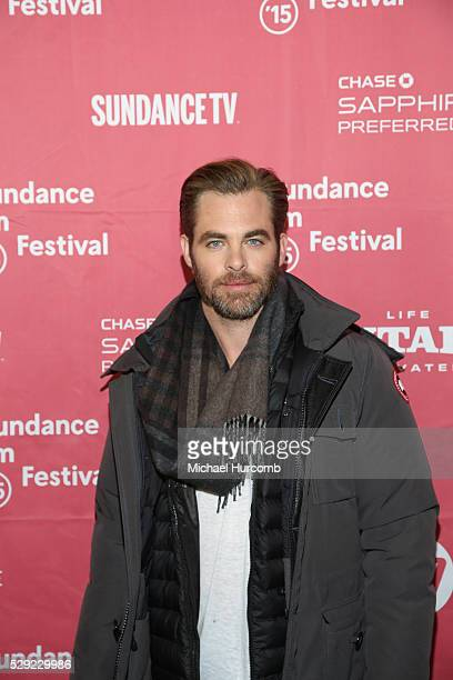 """Actor Chris Pine attends the """"Z for Zachariah"""" premiere at the 2015 Sundance Film Festival"""