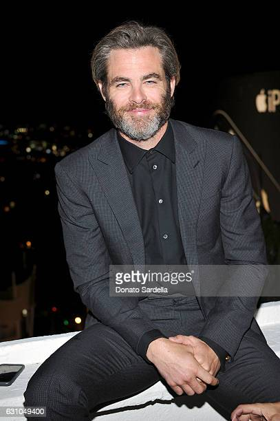 Actor Chris Pine attends W Magazine Celebrates the Best Performances Portfolio and the Golden Globes with Audi and Moet Chandon at Chateau Marmont on...