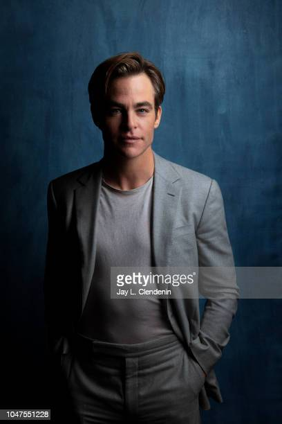 Actor Chris Pine from 'Outlaw King' is photographed for Los Angeles Times on September 7 2018 in Toronto Ontario PUBLISHED IMAGE CREDIT MUST READ Jay...