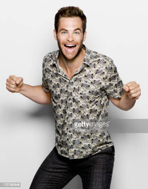 Actor Chris Pine is photographed for Esquire UK on February 27 2013 in Los Angeles California