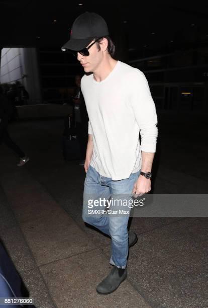 Actor Chris Pine is seen on November 28 2017 in Los Angeles CA