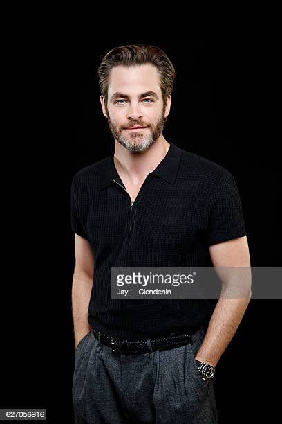 Actor Chris Pine of Hell or High Water is photographed for Los Angeles Times on November 5 2016 in Los Angeles California PUBLISHED IMAGE CREDIT MUST...