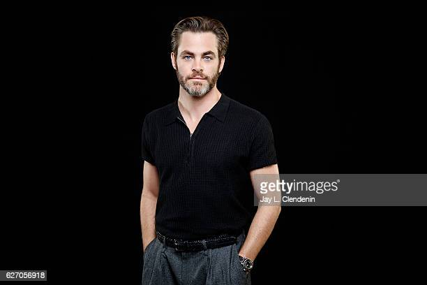 Actor Chris Pine of 'Hell or High Water' is photographed for Los Angeles Times on November 5 2016 in Los Angeles California PUBLISHED IMAGE CREDIT...