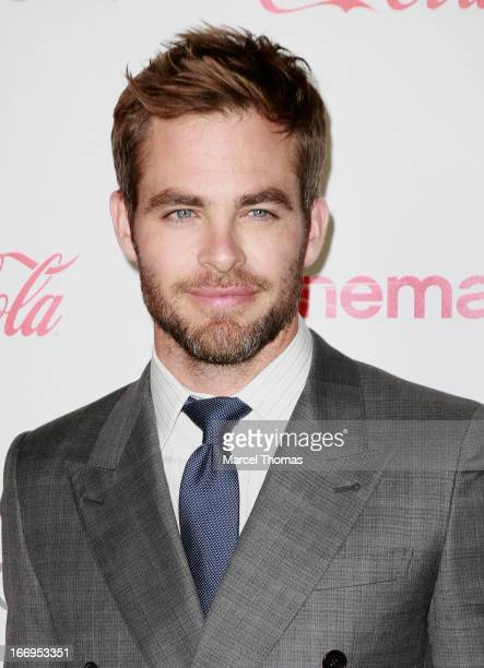 Actor Chris Pine, recipient of the Male Star of the Year Award, arrives at the CinemaCon Big Screen Achievement Awards at the Pure Nightclub at...