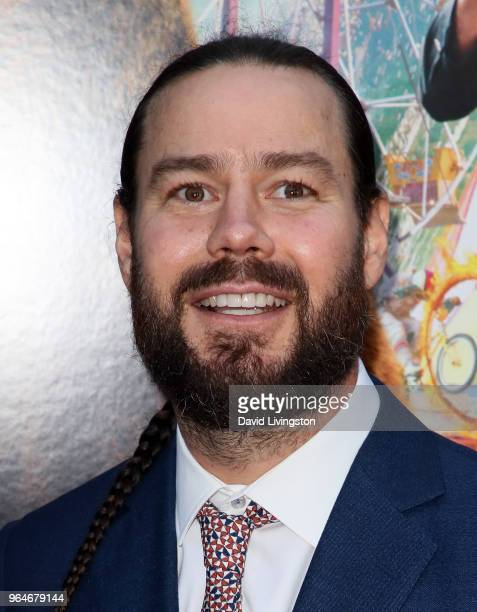 Actor Chris Pontius attends the premiere of Paramount Pictures' 'Action Point' at ArcLight Hollywood on May 31 2018 in Hollywood California