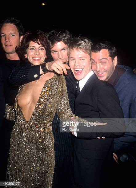 Actor Chris Potter actress Michelle Clunie actor Gale Harold actor Randy Harrison and actor Scott Lowell attend the Screening of the New Showtime...