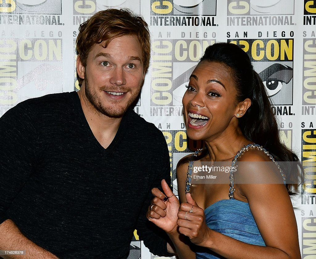 Marvel's 'Thor: The Dark World,' Marvel's 'Captain America: The Winter Soldier' And Marvel's 'Guardians Of The Galaxy' Red Carpet - Comic-Con International 2013 : News Photo