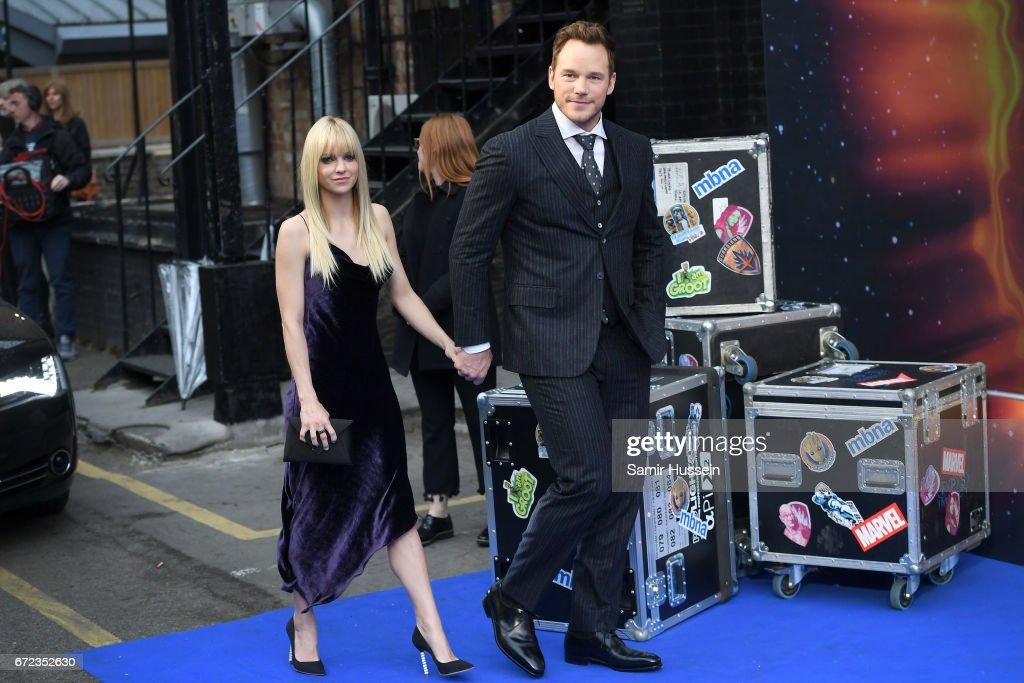 """Guardians of the Galaxy Vol. 2"" - UK Special Screening - Arrivals : Foto di attualità"