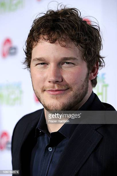 """Actor Chris Pratt arrives at Relativity Media presents the premiere of """"Take Me Home Tonight"""" held at Regal Cinemas L.A. Live Stadium 14 on March 2,..."""