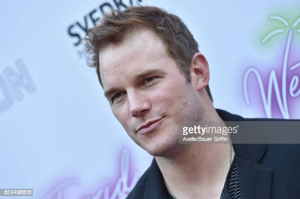 Actor Chris Pratt arrives at the Los Angeles premiere of Neon's 'Ingrid Goes West' at ArcLight Hollywood on July 27 2017 in Hollywood California