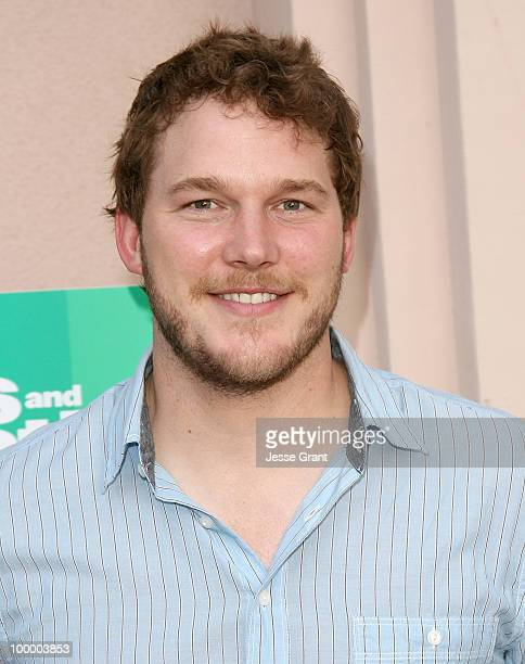 Actor Chris Pratt arrives at the 'Parks And Recreation' Emmy Screening at the Leonard H Goldenson Theatre on May 19 2010 in Los Angeles California