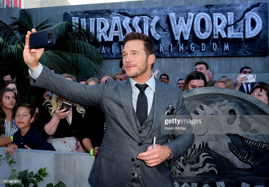 "Premiere Of Universal Pictures And Amblin Entertainment's ""Jurassic World: Fallen Kingdom"" - Red Carpet : News Photo"