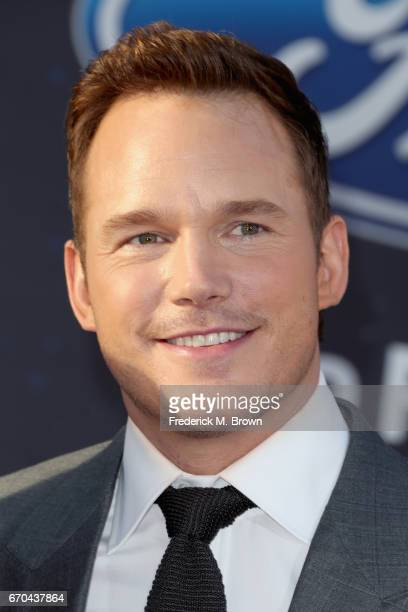 Actor Chris Pratt at the premiere of Disney and Marvel's 'Guardians Of The Galaxy Vol 2' at Dolby Theatre on April 19 2017 in Hollywood California