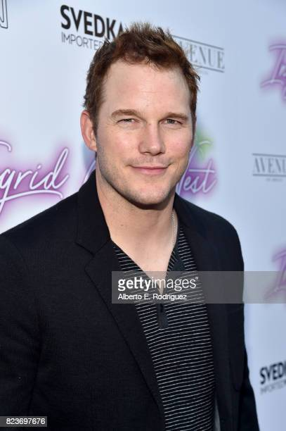 Actor Chris Pratt at the premiere of Neon's 'Ingrid Goes West' at ArcLight Hollywood on July 27 2017 in Hollywood California