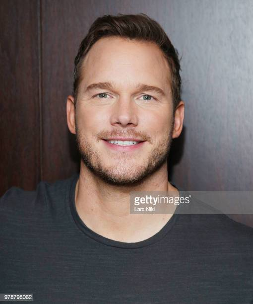 Actor Chris Pratt attends a private screening of Jurassic World Fallen Kingdom for young fans from Ronald McDonald House New York at the Bryant Park...