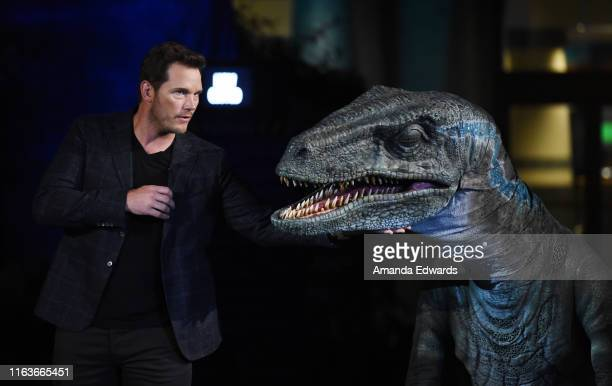 """Actor Chris Pratt attends the grand opening celebration of Universal Studios Hollywood's """"Jurassic World-The Ride"""" at Universal Studios Hollywood on..."""