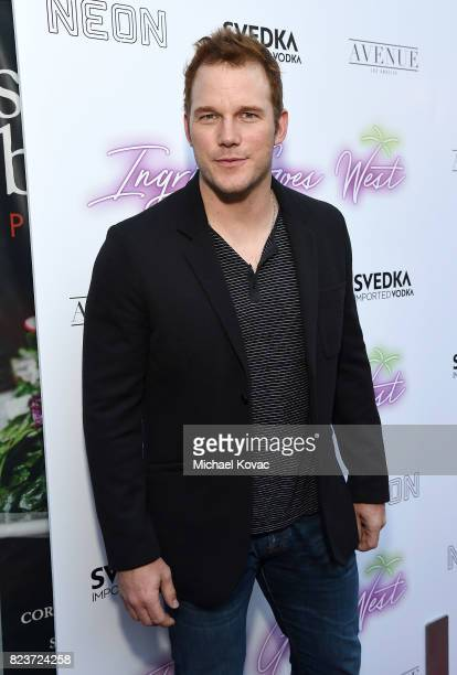 Actor Chris Pratt attends the Los Angeles Premiere of 'Ingrid Goes West' presented by SVEDKA Vodka and Avenue Los Angeles at ArcLight Cinemas on July...