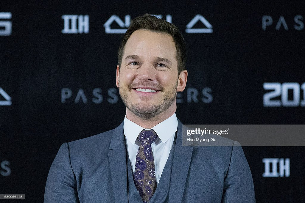 """""""Passengers"""" Press Conference In Seoul"""