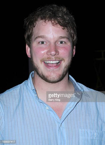 Actor Chris Pratt attends the reception for NBC's Parks and Recreation Emmy Screening held at the Leonard H Goldenson Theatre on May 19 2010 in North...