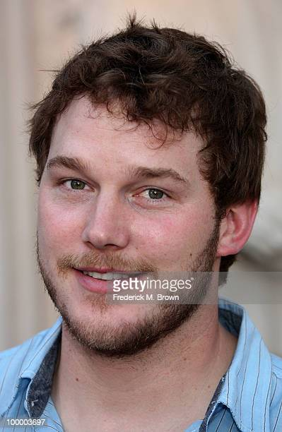 Actor Chris Pratt attends the screening of Parks and Recreation at the Leonard H Goldenson Theatre on May 19 2010 in North Hollywood California