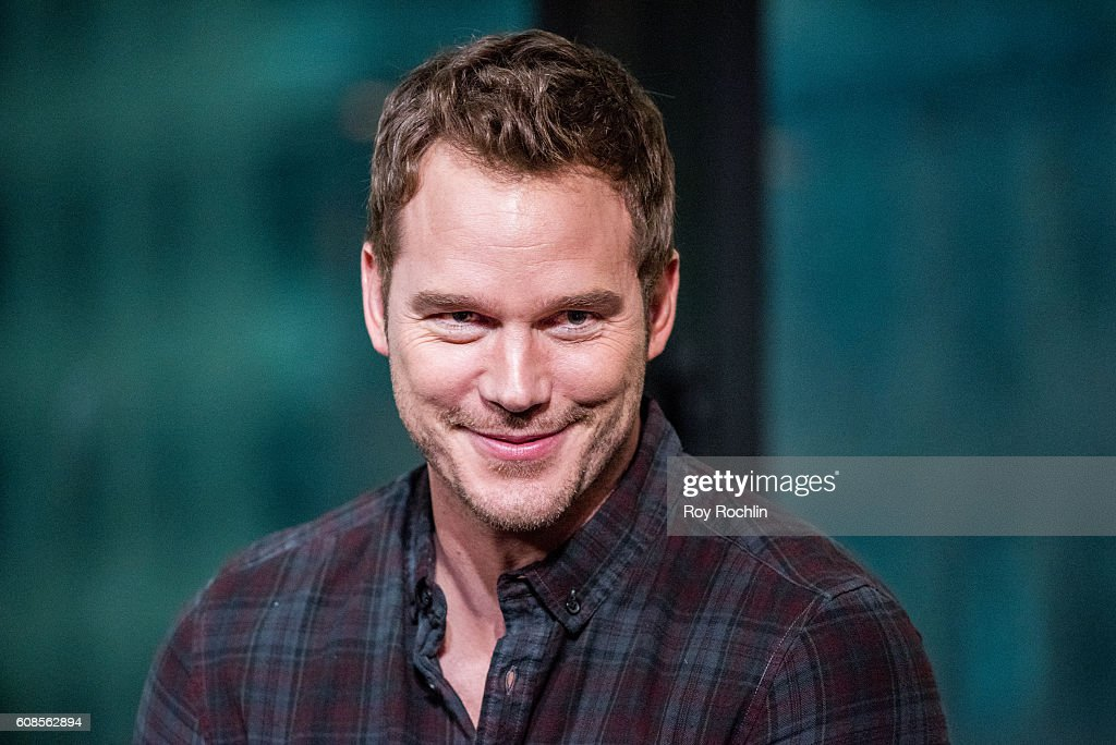 Actor Chris Pratt discusses 'The Magnificent Seven' during AOL Build at AOL HQ on September 19, 2016 in New York City.