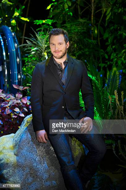 Actor Chris Pratt is photographed for USA Today on June 6 2015 in Los Angeles California PUBLISHED IMAGE