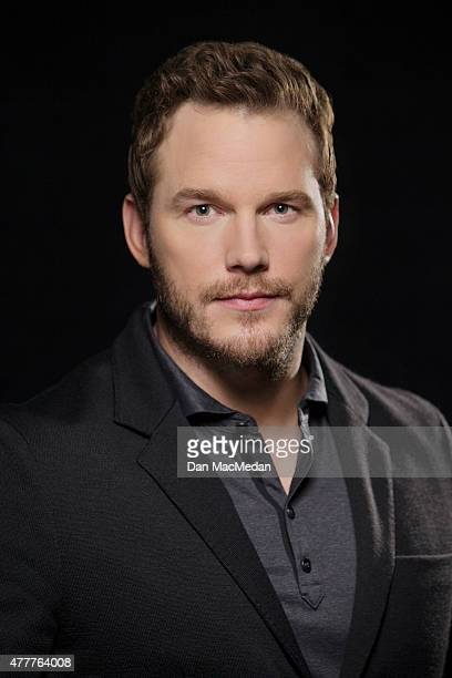 Actor Chris Pratt is photographed for USA Today on June 6 2015 in Los Angeles California
