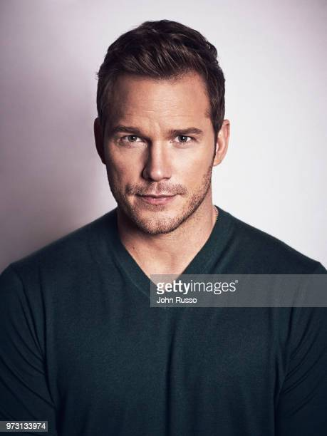 Actor Chris Pratt is photographed on March 8, 2018 in Los Angeles, California.