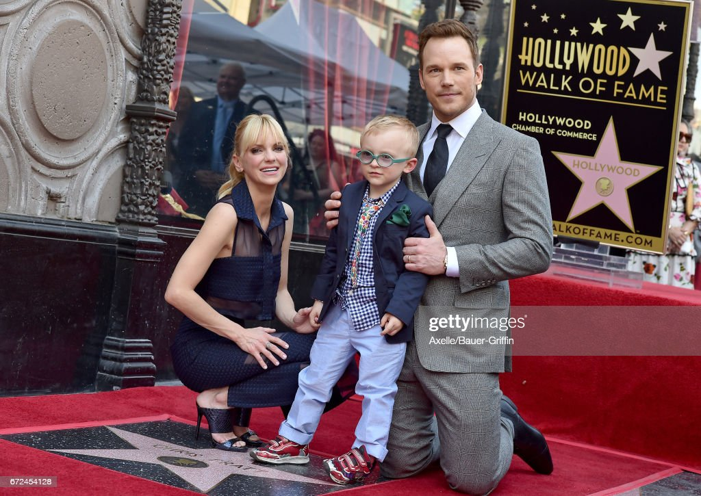 Chris Pratt Honored With Star On The Hollywood Walk Of Fame : News Photo
