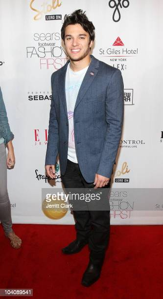 Actor Chris Riggi attends bobi/Boy Meets Girl/Caravan Spring 2011 at Style360 on September 14 2010 in New York City