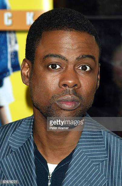 Actor Chris Rock attends a special screening of The Longest Yard May 24 2005 in New York City