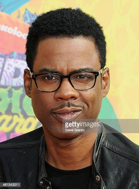Actor Chris Rock attends Nickelodeon's 27th Annual Kids' Choice Awards held at USC Galen Center on March 29 2014 in Los Angeles California