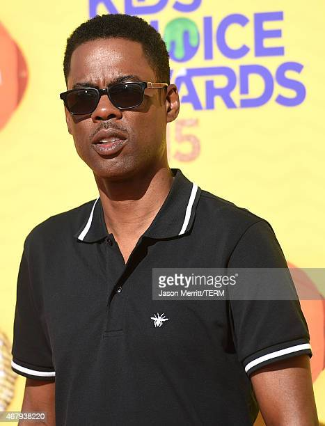 Actor Chris Rock attends Nickelodeon's 28th Annual Kids' Choice Awards held at The Forum on March 28 2015 in Inglewood California