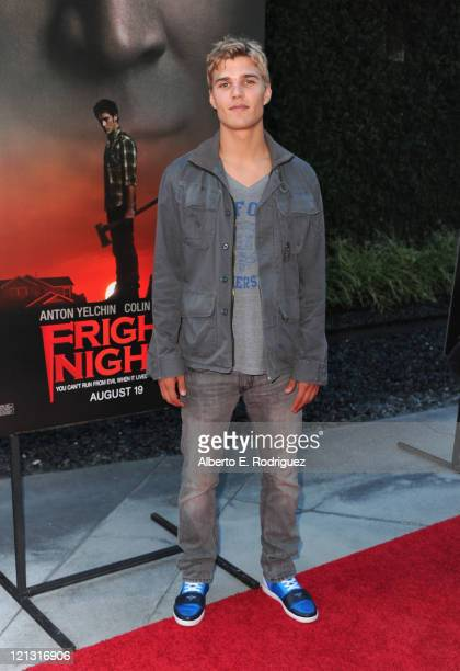 "Actor Chris Salonga arrives to a screening of Dreamworks Pictures' ""Fright Night"" on August 17, 2011 in Hollywood, California."