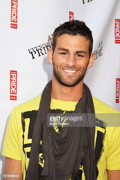 Actor Chris Salvatore attends CSW and LA Pride Host 'An Evening of Pride' with Sharon Osborune at Club Eleven on June 9 2010 in West Hollywood...