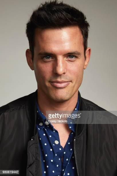 Actor Chris Santos from the film 'Perfect' poses for a portrait in the Getty Images Portrait Studio Powered by Pizza Hut at the 2018 SXSW Film...
