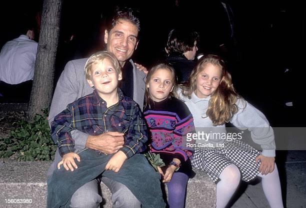 Actor Chris Sarandon and children Michael Sarandon Alexis Sarandon and Stephanie Sarandon attend 'The Nightmare Before Christmas' New York City...