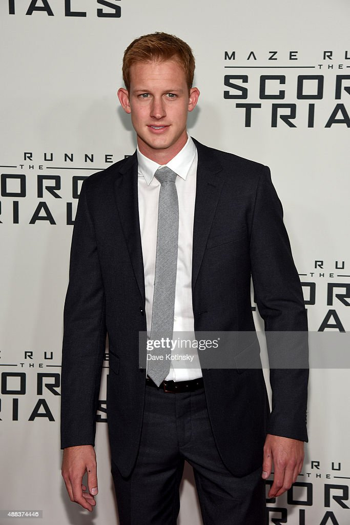 Actor Chris Sheffield attends