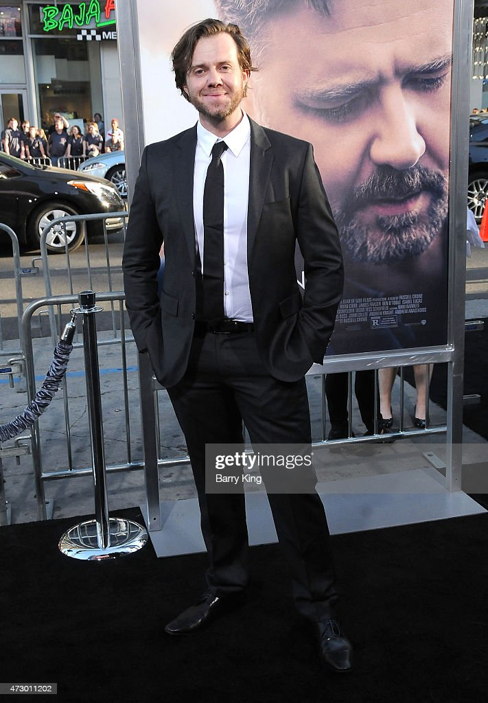 Actor Chris Sommers attends the premiere of 'The Water Diviner' at TCL Chinese Theatre IMAX on April 16, 2015 in Hollywood, California.