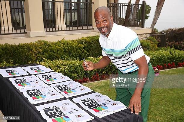 Actor Chris Spencer attends the 2015 BET Experience BETX Celebrity Golf Classic on June 26 2015 in Los Angeles California