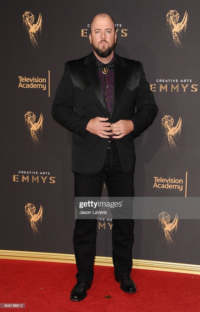 Actor Chris Sullivan attends the 2017 Creative Arts Emmy Awards at Microsoft Theater on September 9, 2017 in Los Angeles, California.