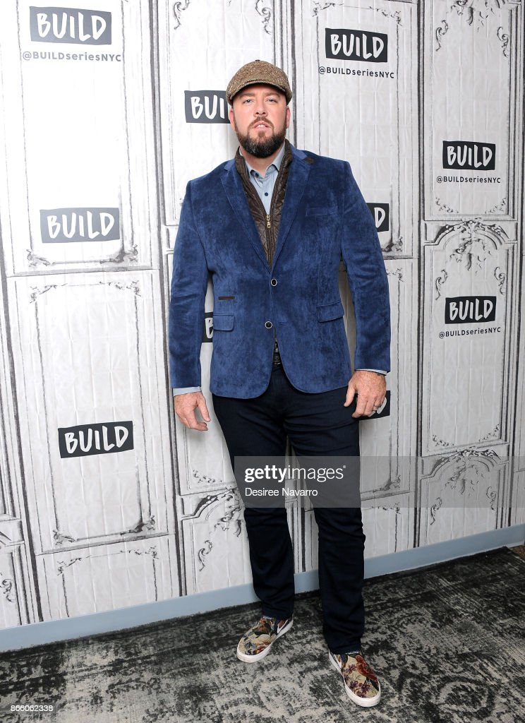 Actor Chris Sullivan visits Build to discuss 'This Is Us' at Build Studio on October 24, 2017 in New York City.