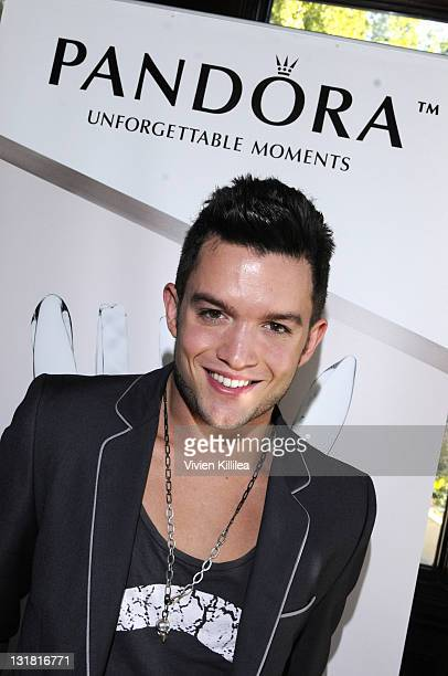 Actor Chris Trousdale attends the The Look Like You Give A Damn Golden Globe Mansion By Nivea For Men hosted by Pascal Mouawad Day 2 on January 15...