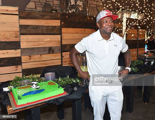 Actor Chris Tucker attends 2nd Annual Chris Tucker Foundation celebrity golf tournament awards dinner at Eagle's Brooke Country Club on August 22...