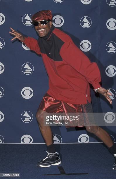 Actor Chris Tucker attends 41st Annual Grammy Awards on February 24 1999 at the Shrine Auditorium in Los Angeles California